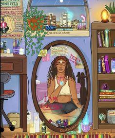 Psychadelic Art, Dope Cartoon Art, Cute Love Images, Black Girl Art, Hippie Art, Dope Art, Elements Of Art, Art Sketchbook, Cute Drawings