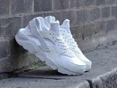 Nike Wmns Air Huarache blanche (1)