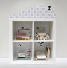 IKEA EXPEDIT HACKS. Wish I would have seen this before I bought J's doll house