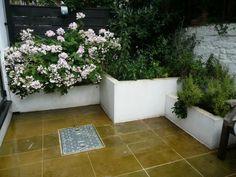 Blossom: Shady courtyard garden