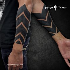 Black Band Tattoo, Black Sleeve Tattoo, Wrist Band Tattoo, Tree Sleeve Tattoo, Solid Black Tattoo, Tribal Sleeve Tattoos, Black Ink Tattoos, Forearm Tattoo Men, Tattoo Sleeve Designs