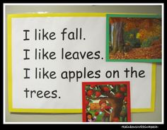 Simple Rhyme for Fall