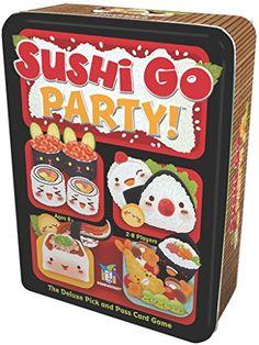 Sushi Go Party! Card Game Gamewright https://www.amazon.com/dp/B01CETNKE2/ref=cm_sw_r_pi_dp_iSjFxbWA6ETFF