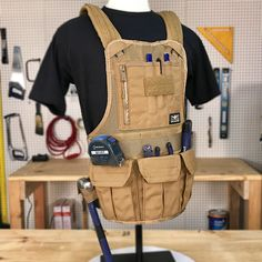 JourneyMESH Chest Rig with Cargo Pockets, $89.99
