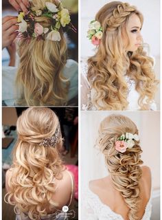 25 Stunning Half Up Half Down Hairstyles Youll Fall In Love With Holidayhair #Hair #Trusper #Tip