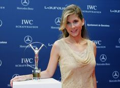 Monica Seles. Always wonder how far she would have gotten if that incident didn't happen