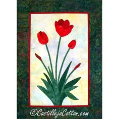 tulip pattern for quilting - Bing Images