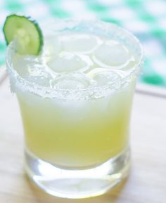 Rick Bayless's Summer Margarita (Cucumber-Lime Margarita)