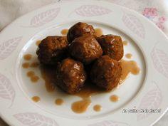 Meatballs with chestnut puree - MANDONGUILLES AMB PURÉ DE CASTANYES - La Cuina de la Isabel