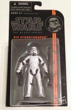 "Hasbro Star Wars Black Series Stormtrooper 3.75"" action figure empire #013"