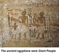 Giant humans in Egypt