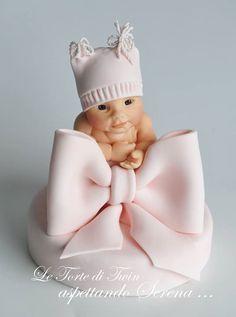 Le Torte di Twin baby cake topper                                                                                                                                                                                 More