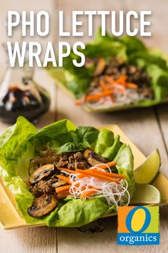 You don't have to travel far for a delicious Asian-inspired meal! This Pho Lettuce Wrap recipe is sure to be a fun and festive dish for the whole family to enjoy.