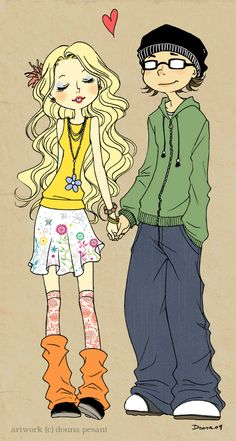 Skins : Sid x Cassie by *meadow-rue on deviantART