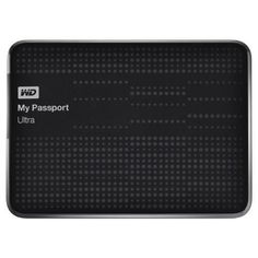 WD My Passport Ultra 2 TB Portable External USB 3.0 Hard Drive with Auto Backup, Black (Old Model)