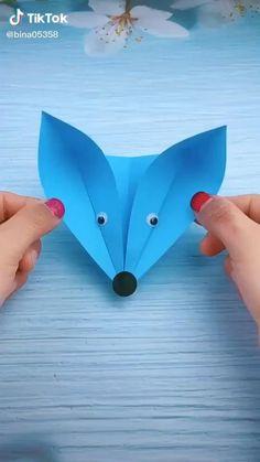 Paper Crafts Origami, Paper Crafts For Kids, Origami Paper, Preschool Crafts, Fun Crafts, Craft With Paper, Cardboard Crafts Kids, Origami Boxes, Dollar Origami