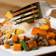 Breakfast is served!   This Sweet Potato Hash Is The Easy, Heart Breakfast From Your Dreams