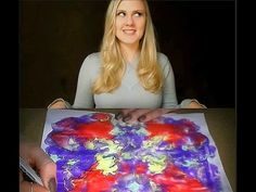 ~) Surrealist Meditative Art Tutorial (~ ASMR /Soft Spoken/Whispered - YouTube