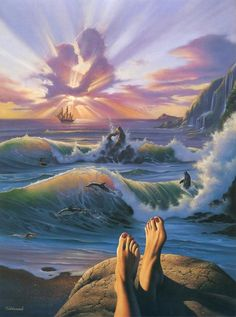 On a Clear Day   By: Jim Warren, via Cuded