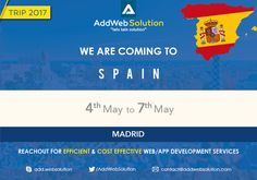 Hola Espana...Como Estas ? 🙂 We are Coming to #Spain - The land of #Passion & #knowledge #MeetUs for #Drupal #WebDevelopment #WebDesign and #AppsDevelopment #landofrabbits #letstalksolution