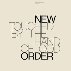 Album cover by the English graphic designer Peter Saville. New order - touched by the hand of god. Peter Saville, Typography Inspiration, Graphic Design Inspiration, Music Covers, Album Covers, Stefan Sagmeister, Grid, Album Cover Design, Music Artwork