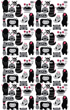 Patterns by MJ Da Luz, via Behance