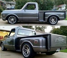 Very sharp looking truck ,,,this with a super charged or turbo charged bigblock would be awesome 1968 Chevy Truck, Custom Chevy Trucks, Dually Trucks, Classic Chevy Trucks, Chevrolet Trucks, Pickup Trucks, 1967 C10, Chevy Stepside, Chevy Pickups