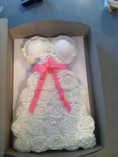 Another cupcake cake!