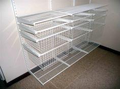 Wire Closet Shelving Parts   House   Pinterest   Closet organization ...