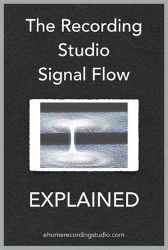 The Recording Studio Signal Flow Explained