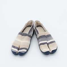 """TABIRELA   Very comfy and easy-to-wear """"slip-on"""" style Tabi Shoes without Kohaze clasps; OK for wearing with bare feet."""