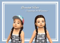 My first converted hair for toddlers :D Finally S4S was working again with the new update so I could try the hair out in game! Download | Simfileshare Available in the standard 9 colors for toddlers! Hat compatible :) Let me know if you find any...