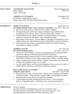 Investment Banking Resume Template Professional Actor Resume  Professional Actor Resume We Provide