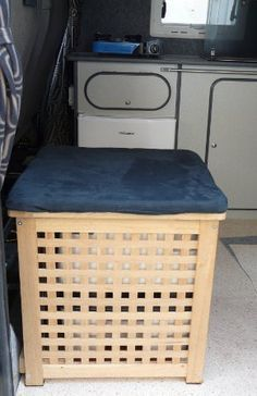 storage solutions for small campervans - Google Search