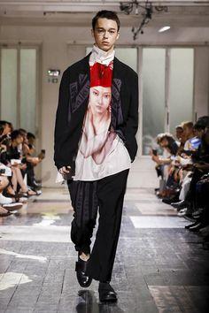 Yohji Yamamoto Menswear Spring Summer 2018 Paris