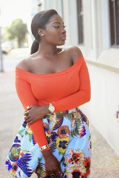 """A Thick Girl's Closet who wants something """"bite-sized"""" anyways! give me the whole damn bag! African Women, African Fashion, Nigerian Fashion, Ghanaian Fashion, African Beauty, Curvy Fashion, Girl Fashion, Womens Fashion, Fashion Black"""