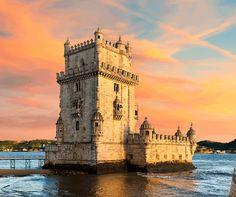 Torre de Belém in Lisboa, Região de Lisboa | Portugal