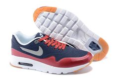 new style c801f 6e3e9 Now Buy New Arrival Nike Air Max 1 Ultra Moire Mens Dark Blue Red White  Save Up From Outlet Store at Footlocker.