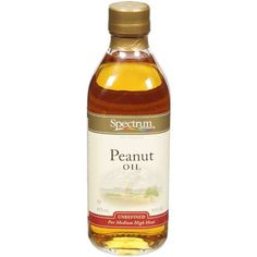 Rich in nutritional value, Peanut Oil is one of the extensively consumed vegetable oils worldwide. It contains rich amount of fatty acids and is typically used in a variety of Indian, Chinese, Japanese and Mexican cuisines. Nutritional Value, Peanut Oil, Whiskey Bottle, Saving Money, Drinks, Spectrum, Chinese, Japanese, Drinking