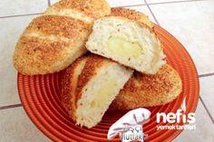 Simit Poğaça Tarifi Cornbread, French Toast, Breakfast, Ethnic Recipes, Food, Millet Bread, Morning Coffee, Essen, Meals