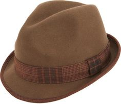 325dbe90d93a3 Montique Fedora Men s Felt Hat H-13
