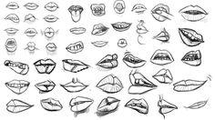 Lips study by Ohjin