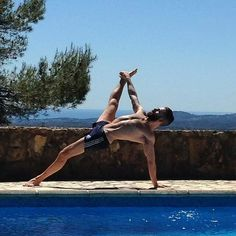 outdoor practice  More yoga inspiration at Bed and Breakfast Valencia Mindfulness Retreat Spain : www.valenciamindfulnessretreat.org
