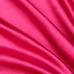 Slipper Satin Hot Pink from @fabricdotcom  This slipper satin has a beautiful sheen and a full fold drape. Perfect for special occasion apparel, blouses, dresses and skirts!