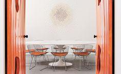 Table Tulip Saarinen Oval L Knoll | NEGREshop