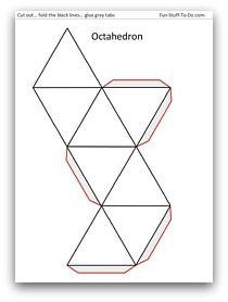 Redes de cuerpos geometricos red cubo paralelepipedos cono