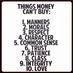 These things are priceless! You cannot buy them
