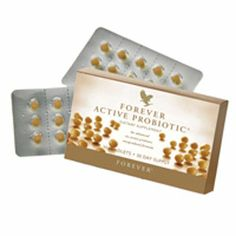 http://aloe-vera-facts.com/  Forever Active Probiotic® is designed to help overcome imbalances created by our food and lifestyle choices, which can inadvertently lead to a reduction in the amount of naturally occurring 'good' bacteria in our system. Forever Aloe Vera Gel™ acts as a 'Prebiotic', which fosters the growth of and provides the ideal environment for the Probiotic to function. Forever Active Probiotic® contains soy.