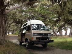 Somoa beach in our syncro Adventurewagen