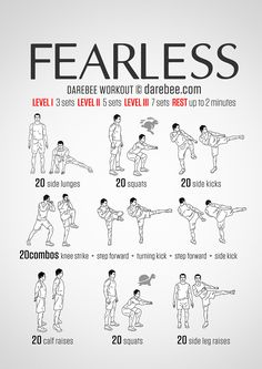 Fearless Workout - www.quantummartialarts.com.au